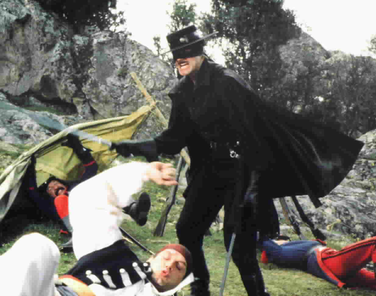 Duncan Regehr as Zorro, from the episode 'The Buccaneers'