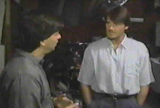 Michael Levine with Duncan Regehr