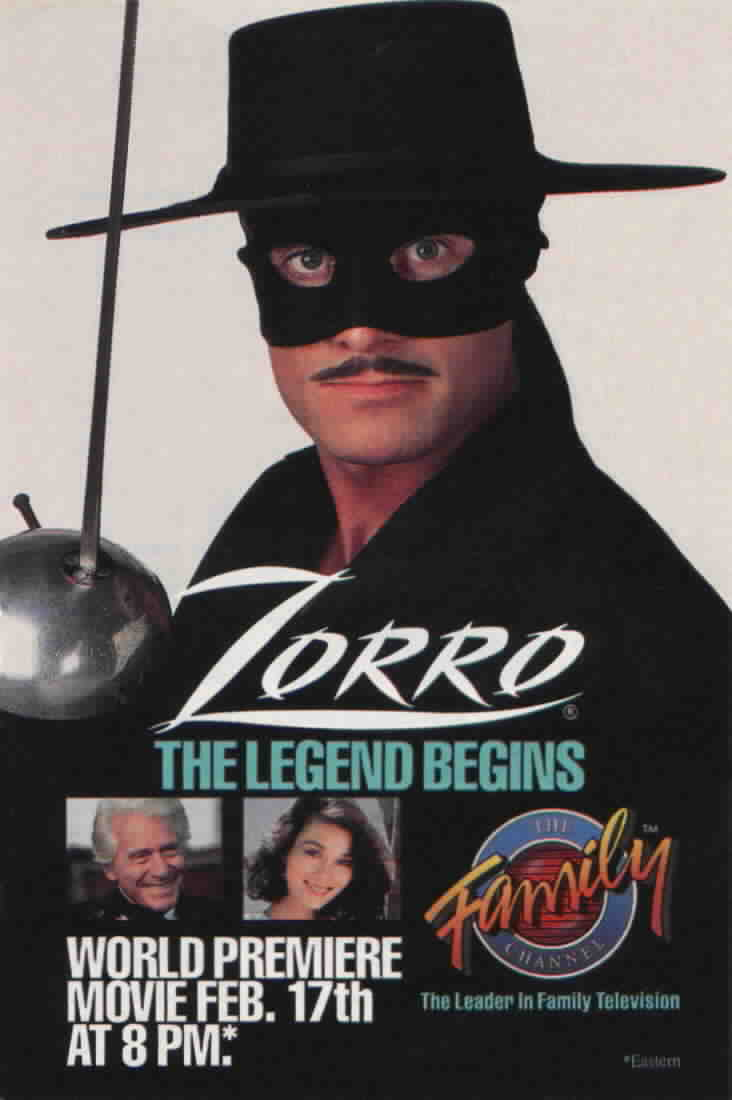 Ad for the premiere of 'The Legend Begins' from TV Guide Feb. 17, 1990