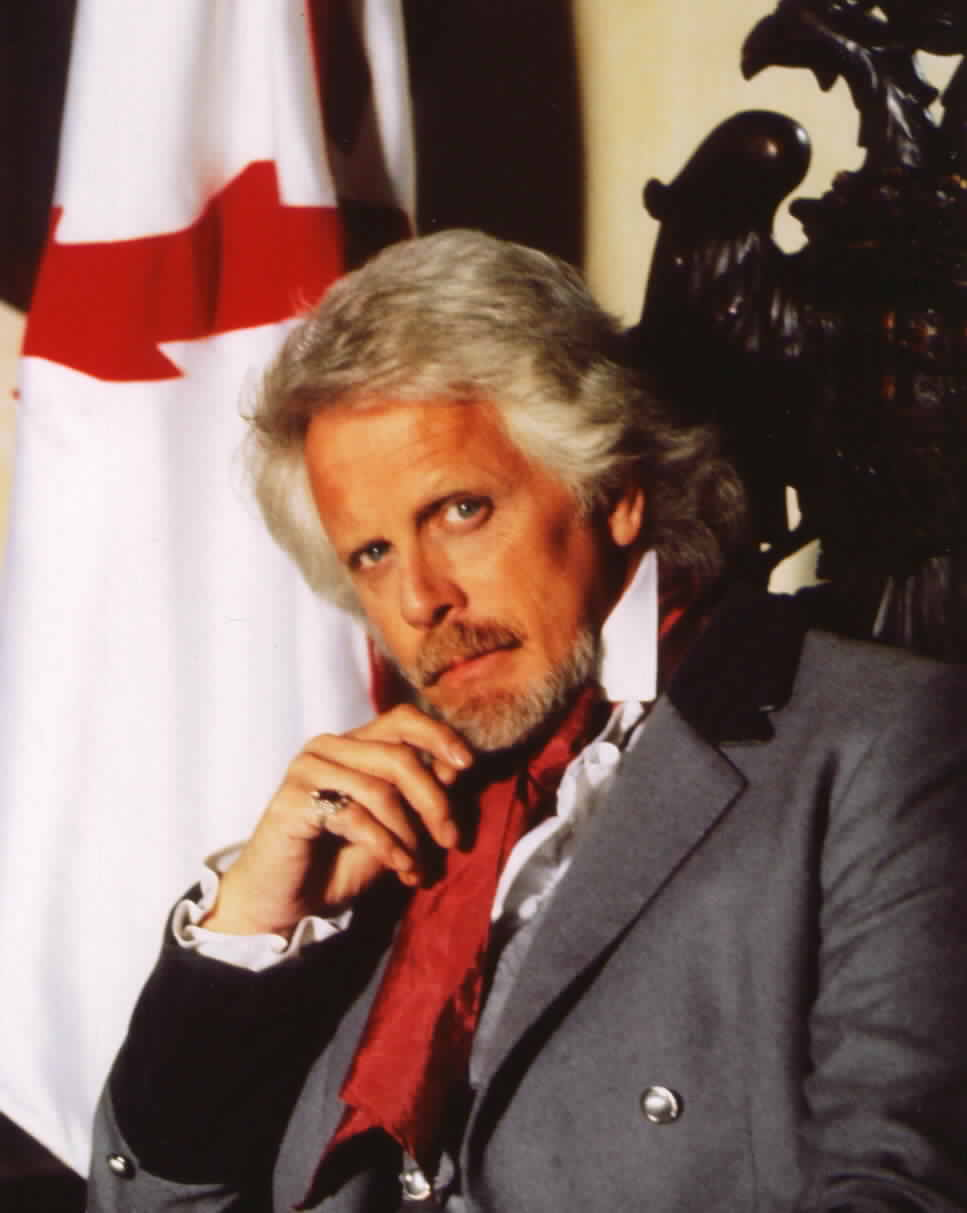 John Hertzler posing for a promotional photo